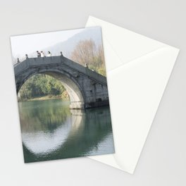 China Arch Moon bridge, Peking Autumn Bridges Cities bridge Stationery Cards