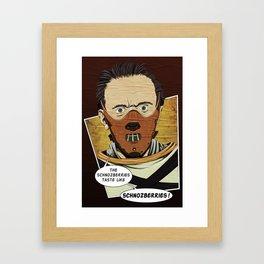 Lecter Wonka Framed Art Print