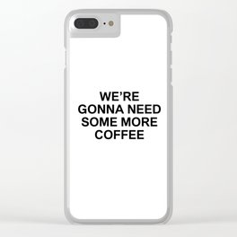 US 001 Clear iPhone Case