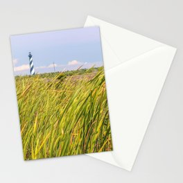 Lighthouse in the Distance Stationery Cards
