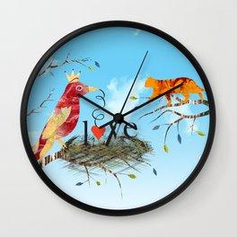 Finding Love Wall Clock