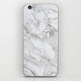 Calacatta Marble iPhone Skin