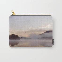 Into the Mists of Dawn: Sunrise on Lake George Carry-All Pouch
