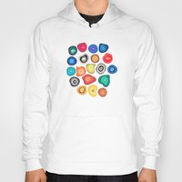 biology Hoodies featuring CELLS by THE USUAL DESIGNERS