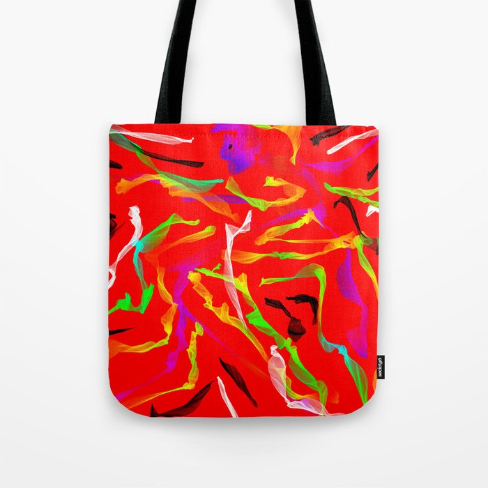 Sexy Dancer Tote Bag