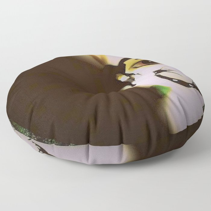 Doll In Color Floor Pillow