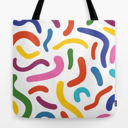 Colorful mess Tote Bag
