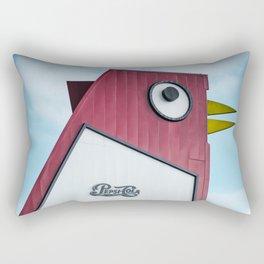 Bet You're Chicken Rectangular Pillow