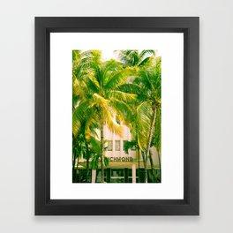 Art Deco Miami Beach #17 Framed Art Print