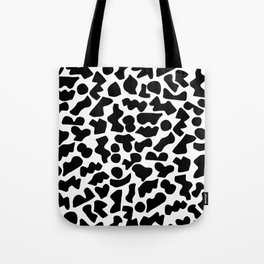 Shapes, Black and White Tote Bag