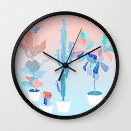 pots Wall Clock