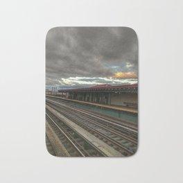 NY Tracks Bath Mat