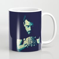 house md Mugs featuring HOUSE MD by Bianca Lopomo