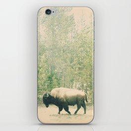 bison I iPhone Skin