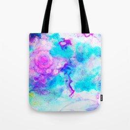 pastel mandala vi Tote Bag