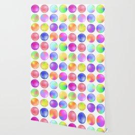 Colorful fluid bubbles Wallpaper
