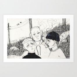 TAUKO Art Print