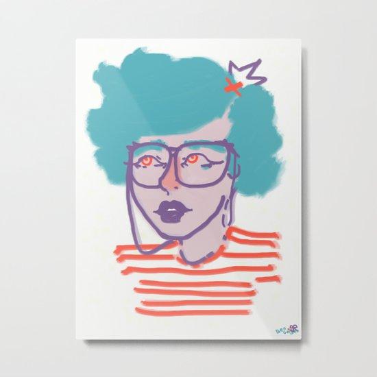 iEYEglasses Metal Print