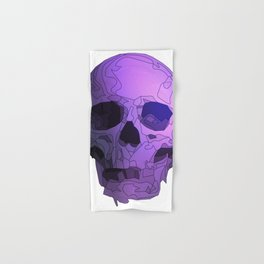 Skull - Violet Hand & Bath Towel