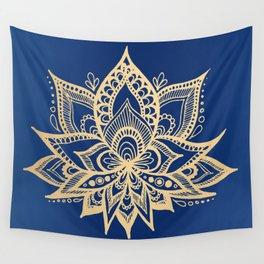 Lotus Flower Wall Tapestries Society6