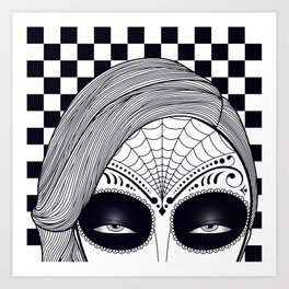 Machete Close Art Print