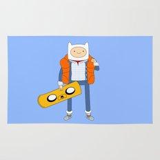 Marty McFinn & Jake the Hoverboard Rug