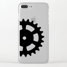 Cog and Roll Clear iPhone Case