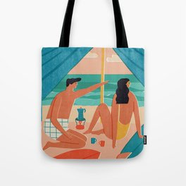 Surf camp Tote Bag