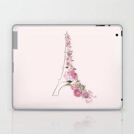 Paris in Flower Love Laptop & iPad Skin