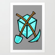 It's All About The Diamonds Art Print