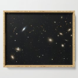 Hubble Space Telescope - The Coma Galaxy Cluster (2008) Serving Tray