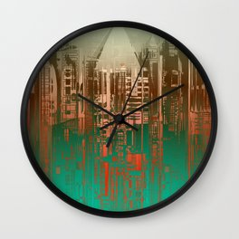 Over the Green / Density Series Wall Clock