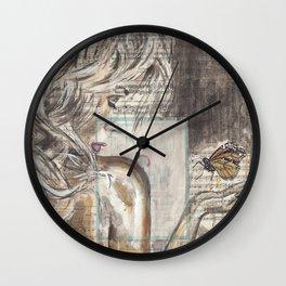 The Dream Girl Wall Clock