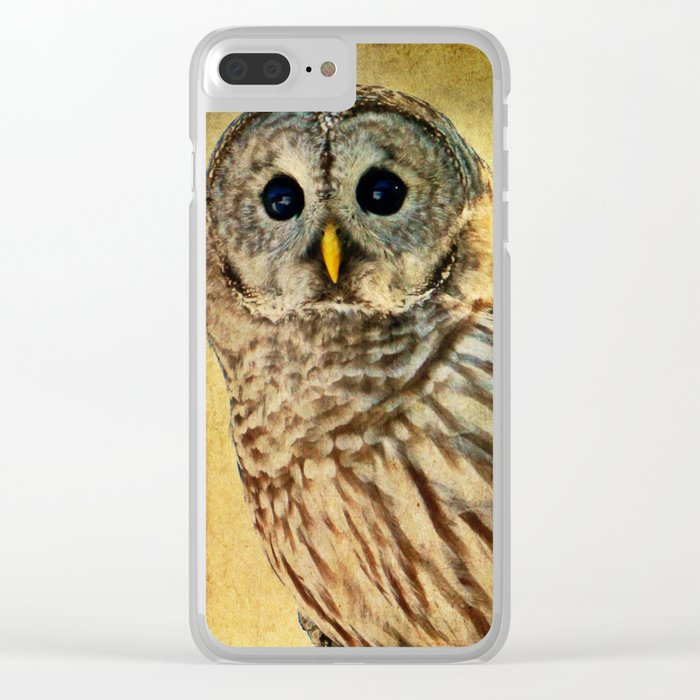 Solitude Stands While Wisdom Draws Near Clear iPhone Case