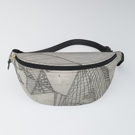 Puzzles Fanny Pack
