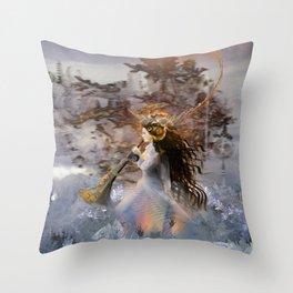 Winter Solstice Throw Pillow