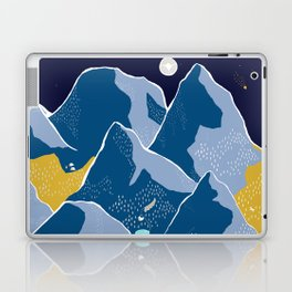 Say goodnight to the mountains Laptop & iPad Skin