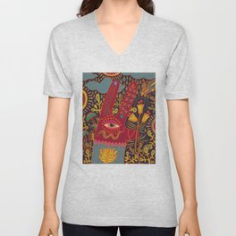 Cyclops Rabbit Unisex V-Neck