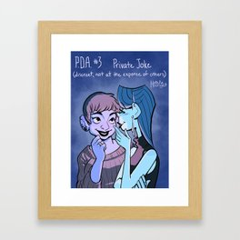 PDA #3 Framed Art Print