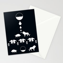 THE LION & THE BOAR Stationery Cards