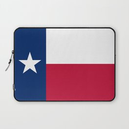 Texas State Flag, Authentic Version Laptop Sleeve