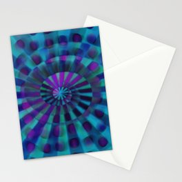 Spiral Spin I Stationery Cards
