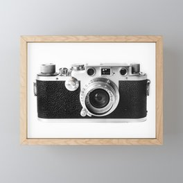 Old Camera Framed Mini Art Print