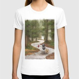 Robot in the Woods T-shirt