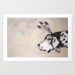 HoundDog Art Print