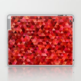 Bloody triangles Laptop & iPad Skin