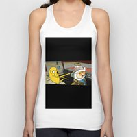 fear and loathing Tank Tops featuring fear and loathing time by nakedoats