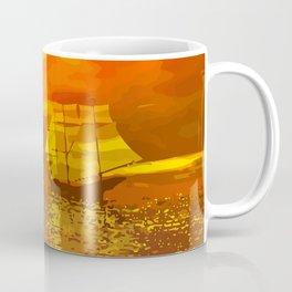 Segelschiffe im Sonnenschein Coffee Mug