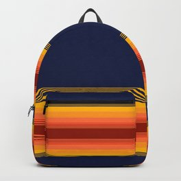 sunshine stripes Backpack