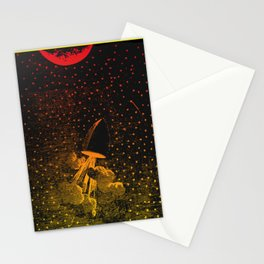 Nineteenth Century Space Travel Stationery Cards